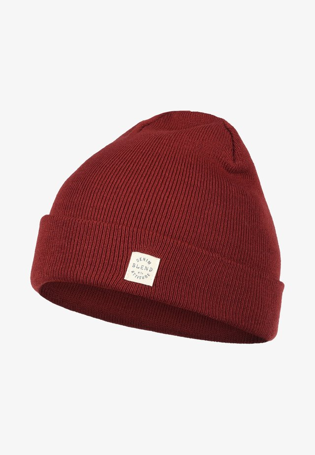 SCAM - Beanie - wood red