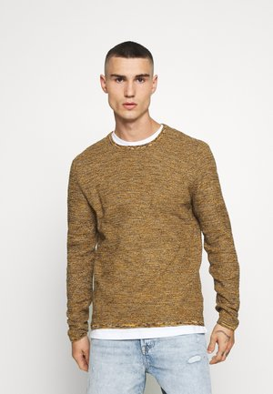 ONSWICTOR STRUCTURE CREW NECK - Jumper - autumn blaze