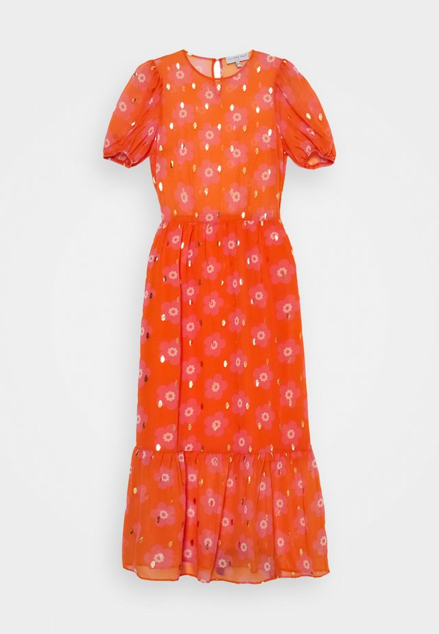 SIENNA FLORAL DRESSES - Maxikjole - orange