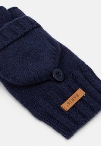 Barts - HAAKON BUMGLOVES BOYS - Gloves - navy - 1