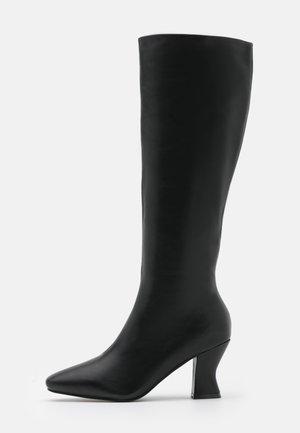 WIDE FIT JACEY - Vysoká obuv - black