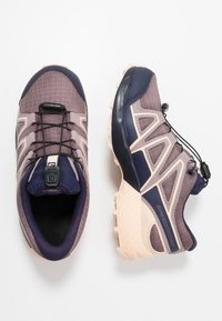 Salomon - SPEEDCROSS CSWP - Hiking shoes - flint/evening blue/bellini - 1