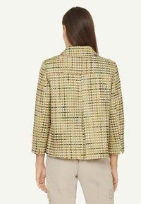 comma - Light jacket - spring green jaquard - 2