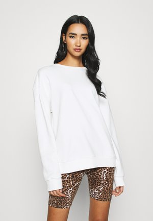 BASIC - Sweatshirt - white