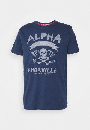 SKULL - T-Shirt print - new navy