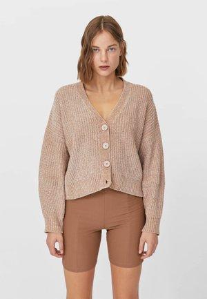 CHENILLE  - Cardigan - beige