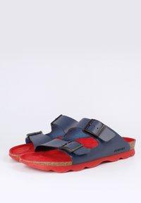 Genuins - HAWAII VACHETTA - Sandals - navy - 2