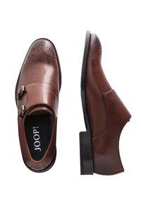 JOOP! - SANTINOS - Smart slip-ons - cognac - 3