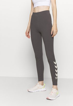 CATE HIGH WAIST - Leggings - magnet