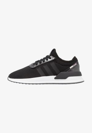 U_PATH X RUNNING-STYLE SHOES - Trainers - core black/purple beauty/footwear white
