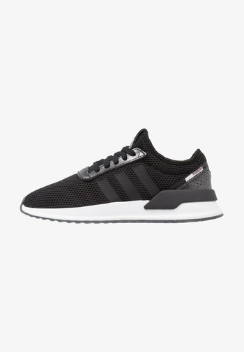 U_PATH X RUNNING-STYLE SHOES - Trainers - core black/purple beauty/footwear white