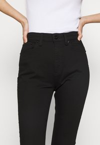 rag & bone - NINA HIGH RISE ANKLE CROP - Skinny džíny - black - 4