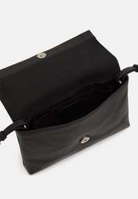Zign - LEATHER - Across body bag - black - 2