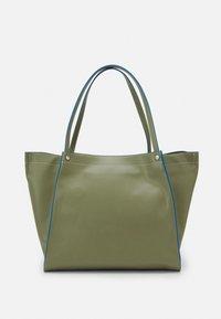 HVISK - BOAT SOFT - Shopper - moss green - 3