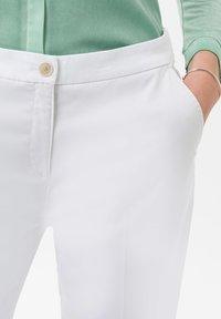BRAX - STYLE MARON - Trousers - white - 3