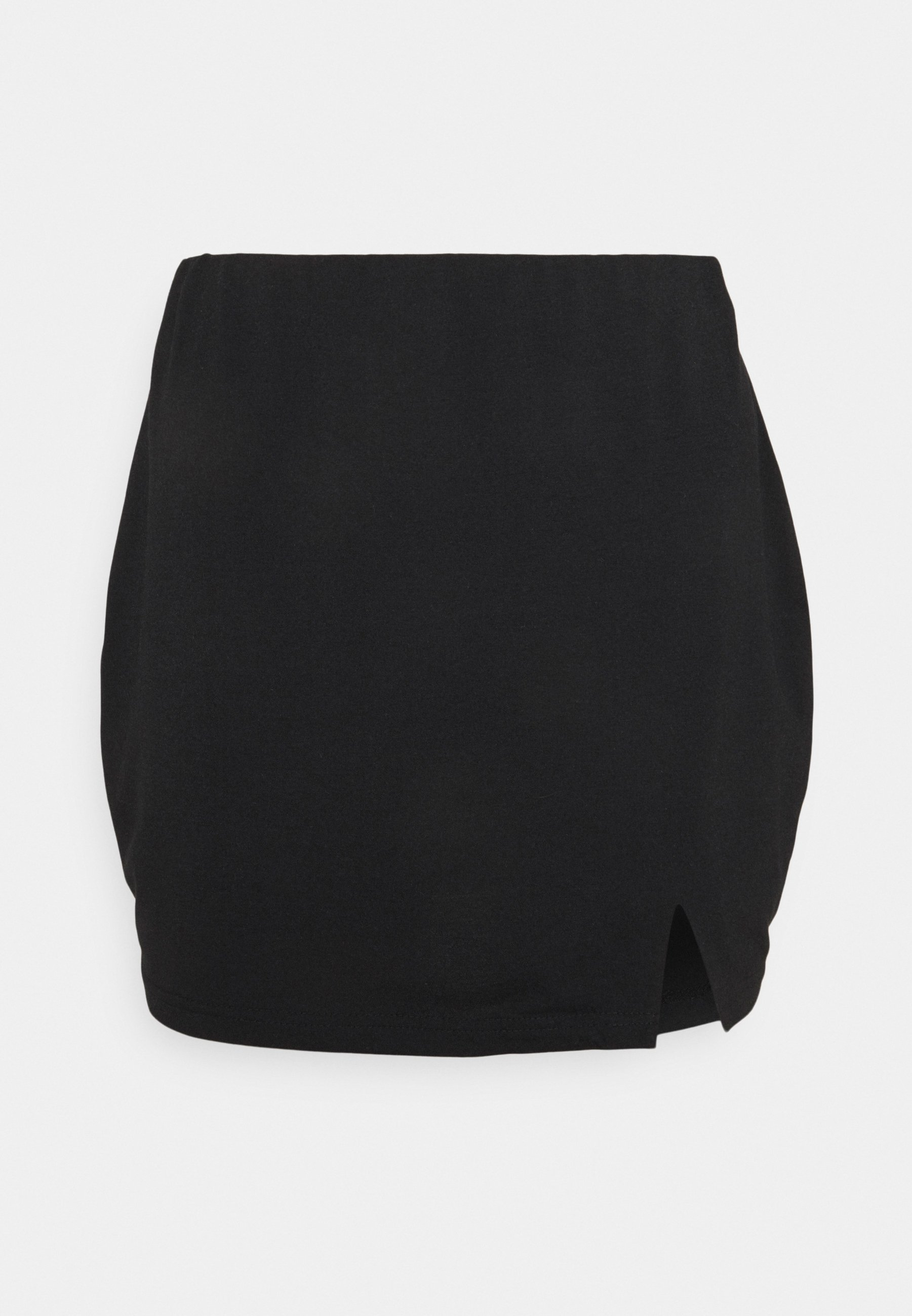 Women SPLIT SIDE SKIRT - Mini skirt
