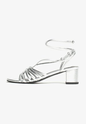 ANGENI - Sandals - silver