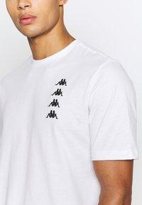 Kappa - JORN - T-Shirt print - bright white - 5
