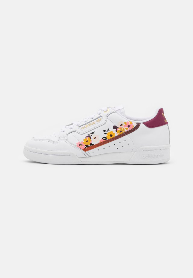 CONTINENTAL 80 - Sneakers basse - footwear white/power berry/gold metallic
