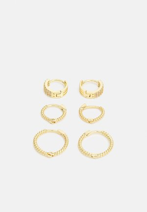 ONLKETTY EARRING 3 PACK - Earrings - gold-coloured