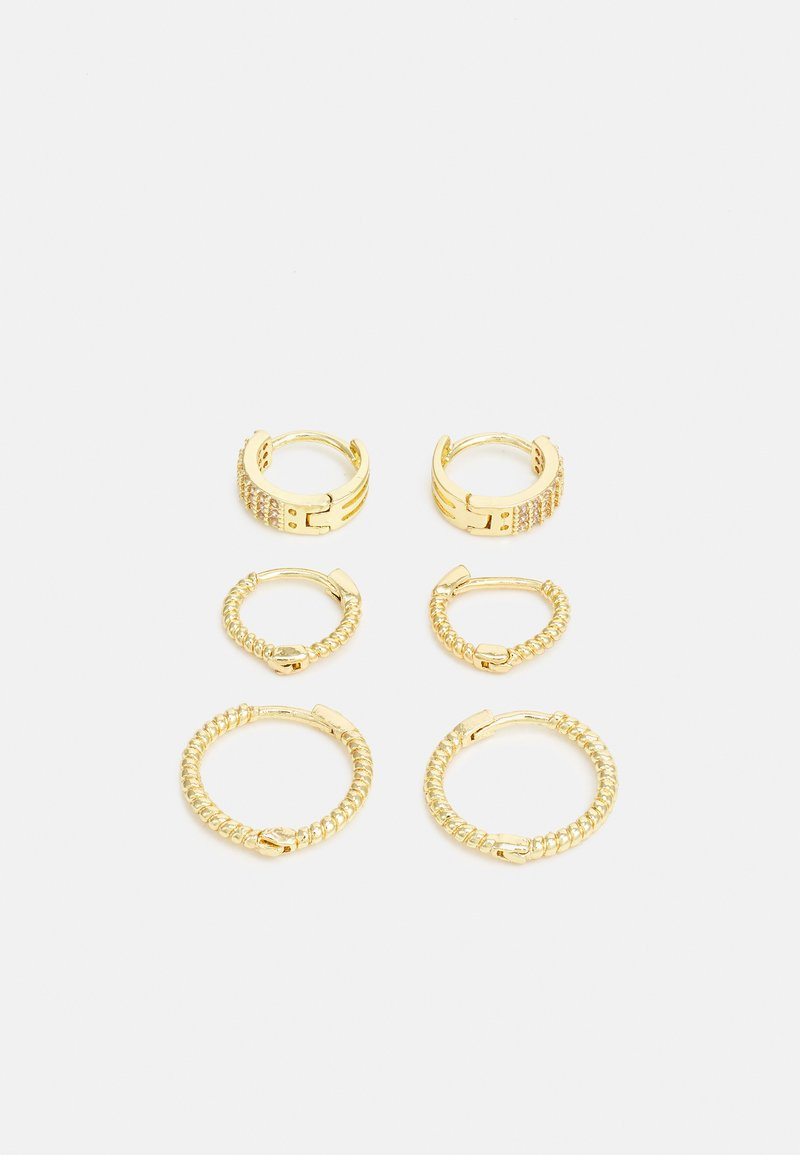 ONLY - ONLKETTY EARRING 3 PACK - Náušnice - gold-coloured