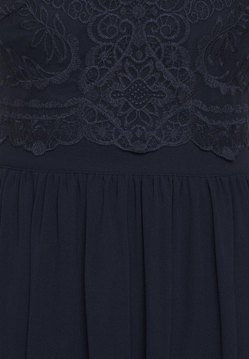 Esprit Collection LUX FLUID - Cocktailkleid/festliches Kleid - navy/dunkelblau J8EuU0