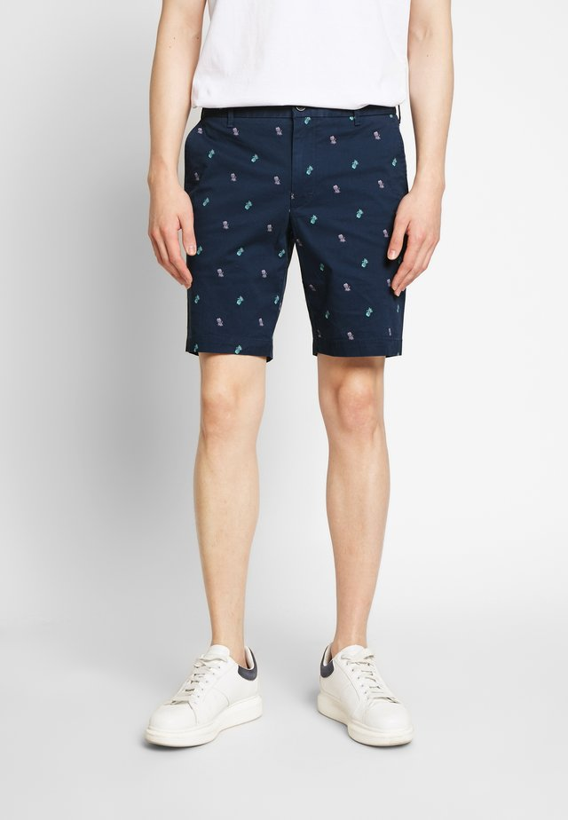 PRINTED PINEAPPLE - Shorts - cadet navy