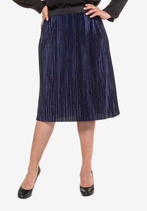 A-line skirt - deep dark blue