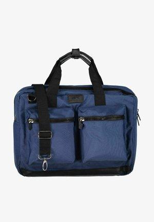 Laptop bag - dark blue plain