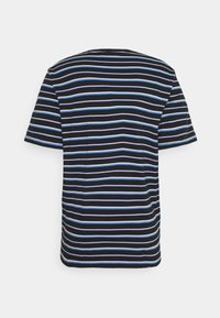 Scotch & Soda - CLASSIC PATTERNED CREWNECK - Print T-shirt - dark blue/blue - 1