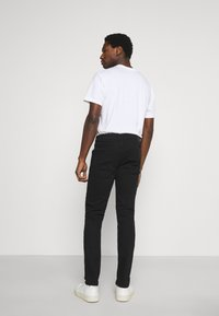 Solid - JOY - Slim fit jeans - black denim - 2