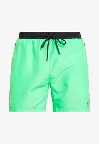 light pastel green