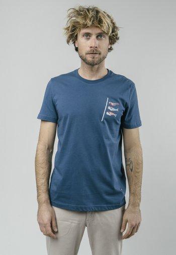 KOINOBORI KITE  - Print T-shirt - blue