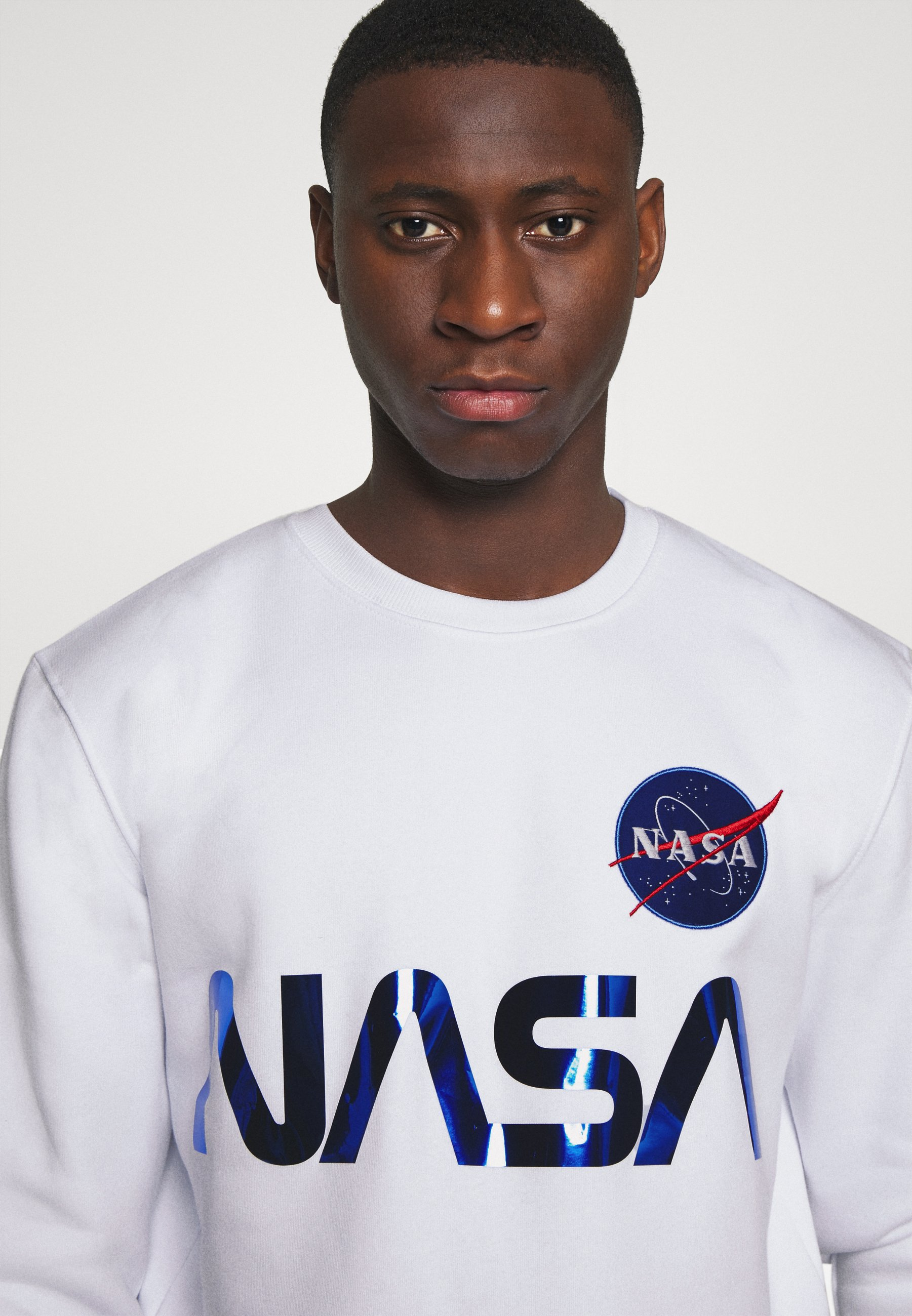 Alpha Industries NASA Sweatshirt schwarz Zalando.at