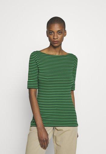 Print T-shirt - black hedge