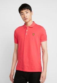 Lyle & Scott - Polo shirt - geranium pink - 0