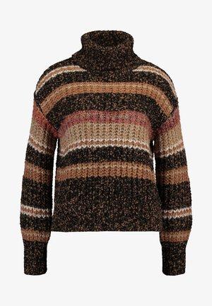 Pullover - brown patina