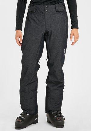 NARDO - Pantaloni da neve - heatherblack