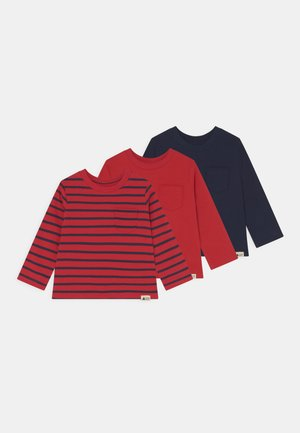 3 PACK - Long sleeved top - red