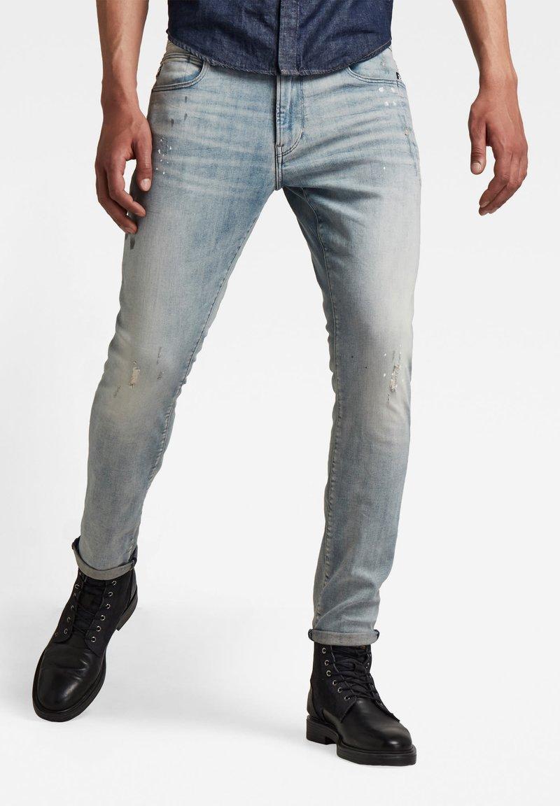 G-Star - LANCET VINTAGE NASSAU - Jeans Skinny Fit - light blue