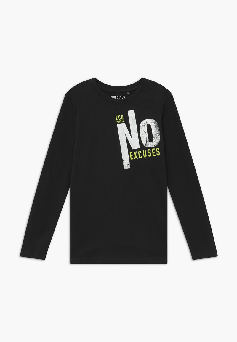 Blue Seven - TEENS FUTURE CLIMATE ACTION - Long sleeved top - nachtblau