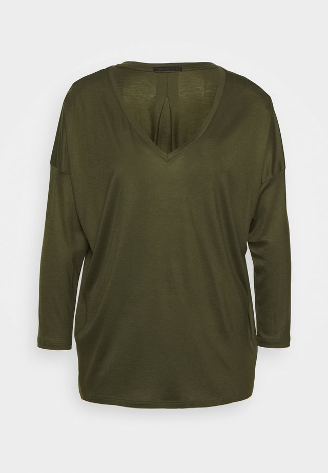 VENJA - T-shirt à manches longues - grün