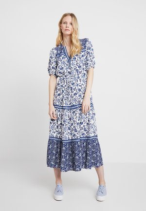 TIERED DRESS - Maxi dress - dark indigo