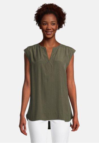 Blouse - dunkelgrün