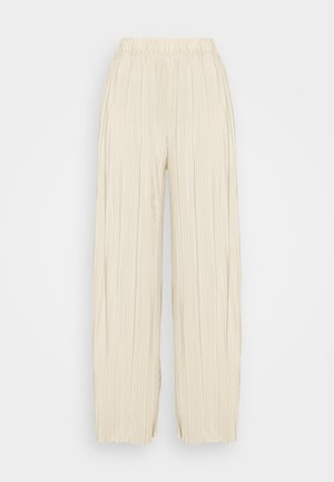 UMA TROUSERS - Trousers - brown rice