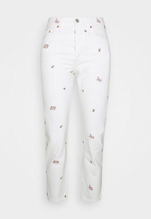 501 CROP - Jeans slim fit - white denim