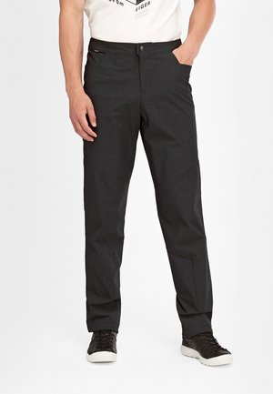 MASSONE - Outdoor trousers - black