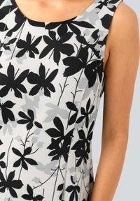 Alba Moda - Day dress - off-white grau schwarz - 3