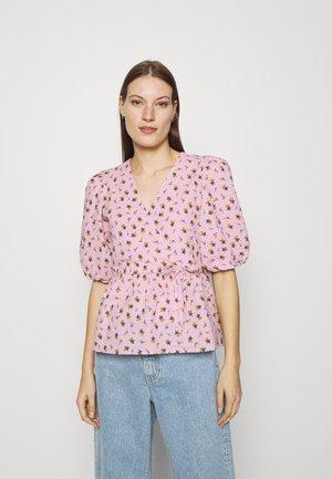 AVERY BLOUSE - Print T-shirt - fragrant lilac