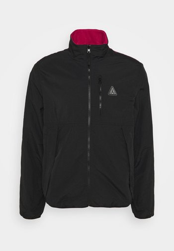 CRISIS REVERSIBLE JACKET - Summer jacket - black